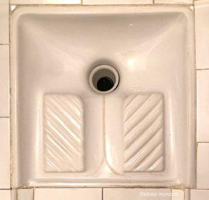 モロッコのトイレ